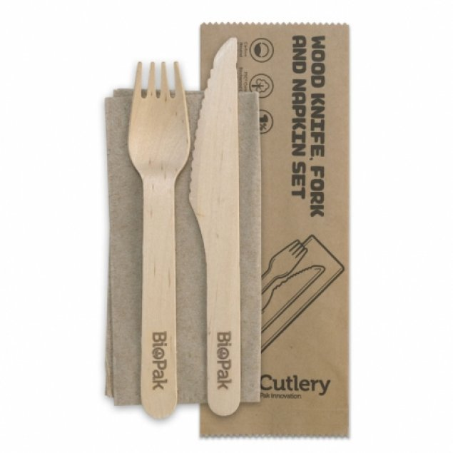 Cutlery w/ Serviette